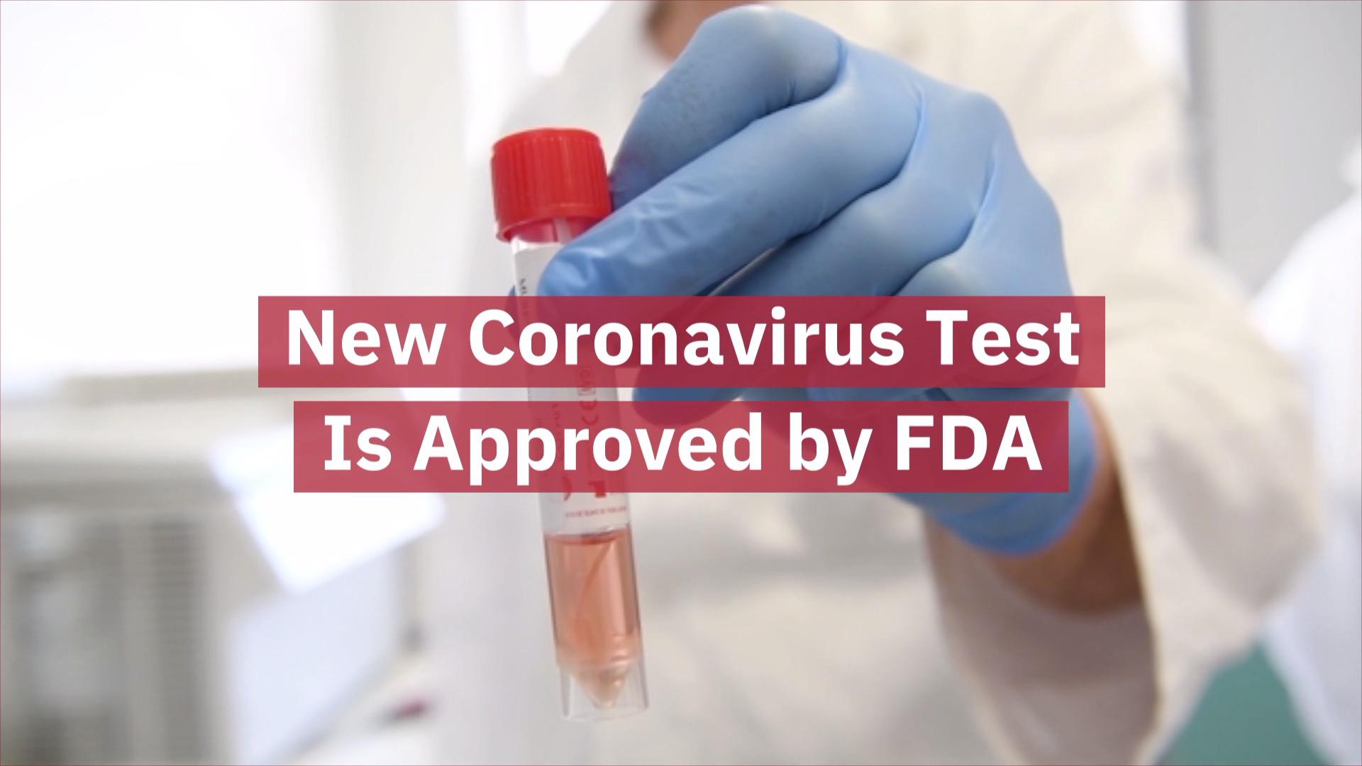 A New Coronavirus Test