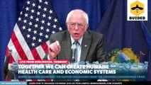 Senator Bernie Sanders Gives a Speech on Coronavirus