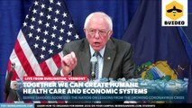 Senator Bernie Sanders Gives a Speech on Coronavirus