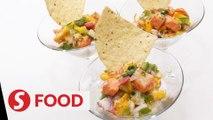 Retro Recipe: Salmon ceviche