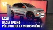Dacia Spring, l'électrique la moins chère du marché ?