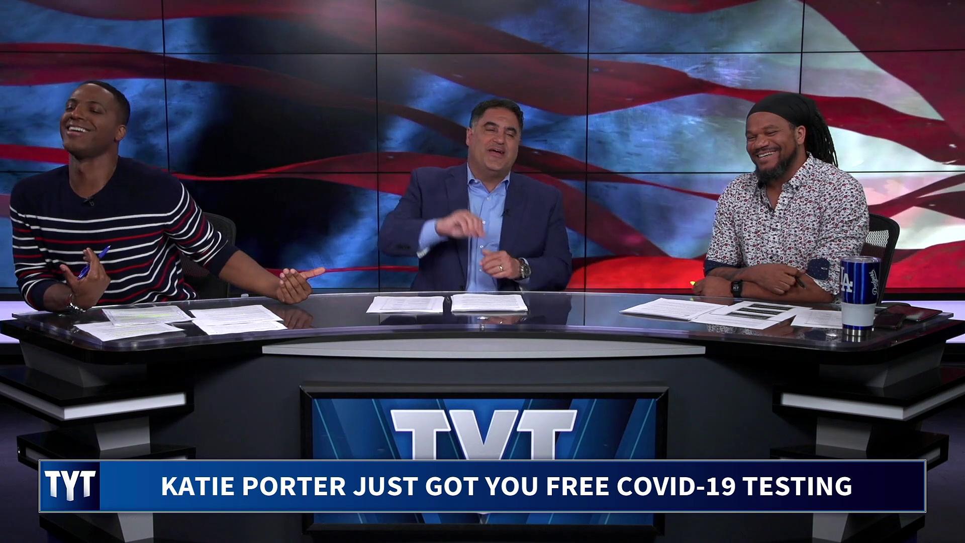 Katie Porter DOMINATES Trump CDC Stooge