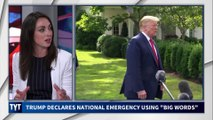 "Trump Declares National Emergency Using ""Big Words"""