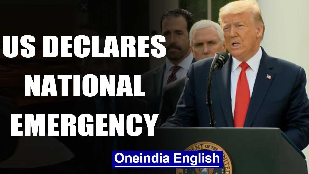 United States declares national emergency amid Coronavirus pandemic| Oneindia News
