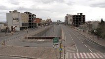 IKBY'de koronavirüs nedeniyle sokağa çıkma yasağı ilan edildi