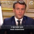 Coronavirus: Macron s'adresse aux entreprises, à l'Europe et à Donald Trump