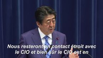 """Tokyo-2020: Le Japon veut que """"les Jeux olympiques se déroulent comme prévu"""" - Abe"""