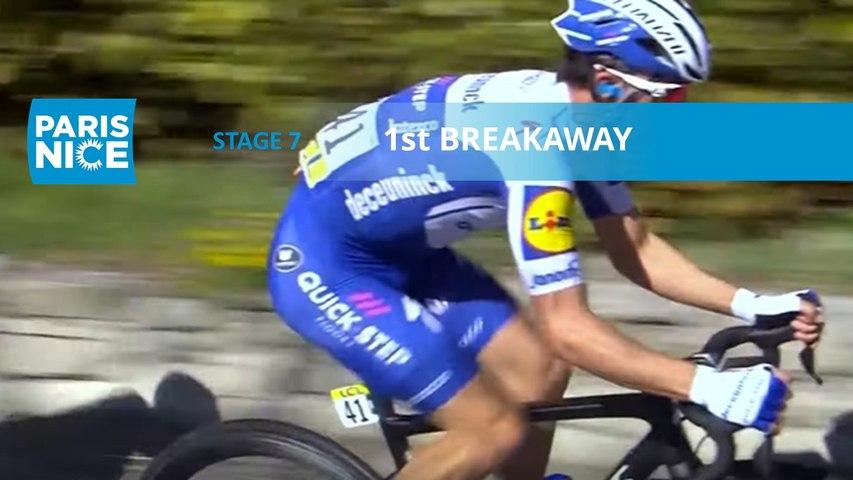 Paris-Nice 2020 - Étape 7 / Stage 7 - 1st Breakaway
