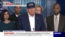 """Coronavirus: Donald Trump dit avoir été testé, les résultats seront connus dans """"un jour ou deux"""""""