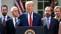 Trump declares national emergency to combat coronavirus, authorizes waiving of laws and regulations