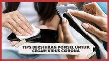 Penting! Tips Bersihkan Ponsel untuk Cegah Virus Corona