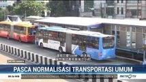 Pembatasan Transportasi Umum Picu Antrean Panjang