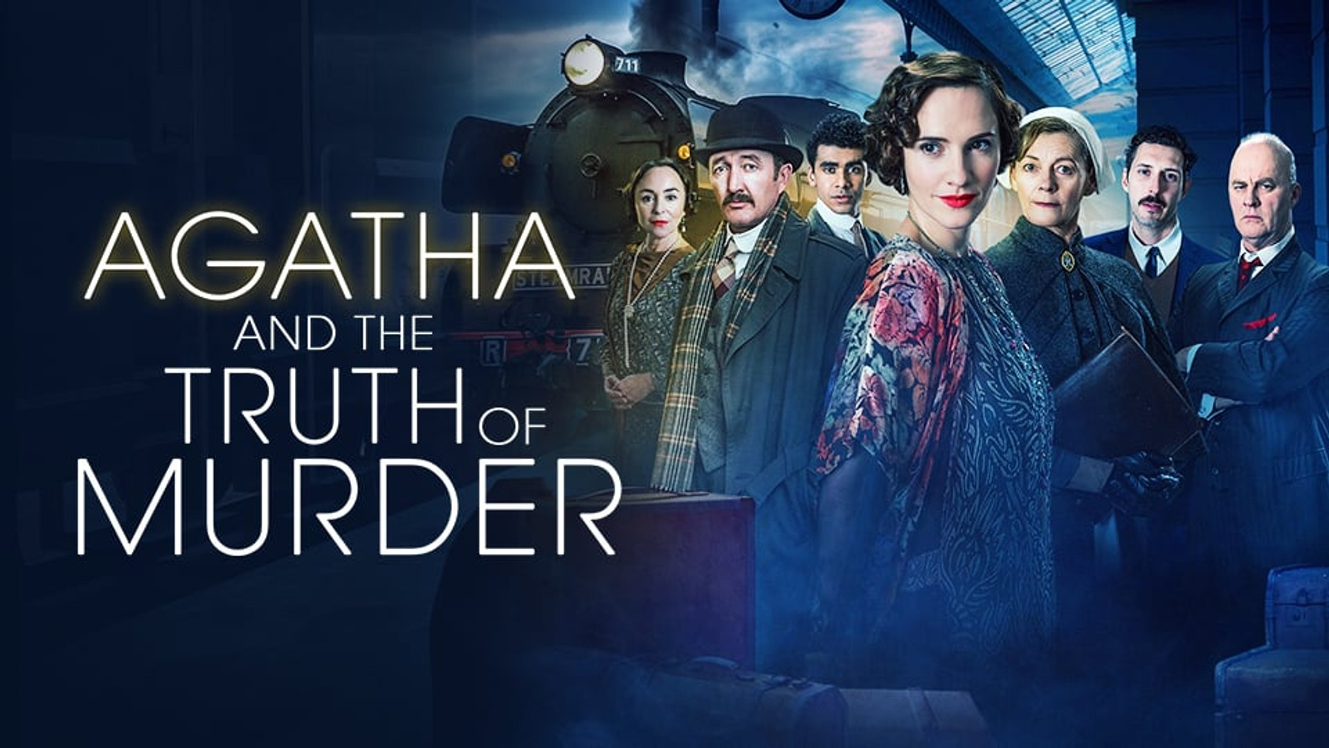 Agatha and the Midnight Murders 2020 banner HDMoviesFair