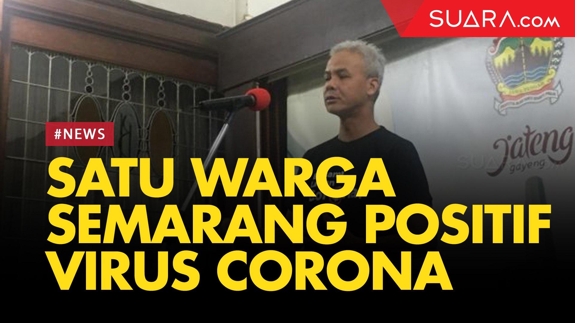 Bertambah, Satu Warga Semarang Positif Virus Corona