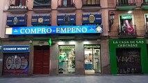 Coronavirus: Madrid streets deserted amid country-wide lockdown