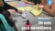 Municipales : ils votent au stade 3 de l'épidémie de coronavirus
