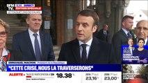 """Emmanuel Macron: """"Je n'ai pas été testé car je n'ai pas de symptômes (...) il n'y a pas de passe-droit face au virus"""""""
