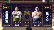 Sadanoumi vs Tochinoshin - Haru 2020, Makuuchi - Day 1