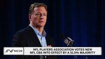 NFL Players Association Approves New Collective Bargaining Agreement