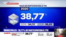 Municipales: le taux de participation est de 38,77% en France à 17h