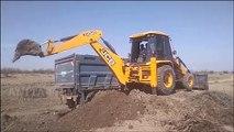 JCB VIDEO - JCB Working For New Bridge Construction - JCB Dozer Working Video