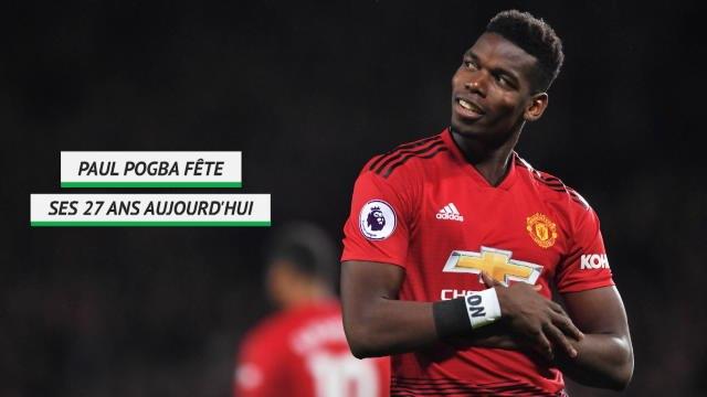 Man Utd - Paul Pogba fête ses 27 ans !