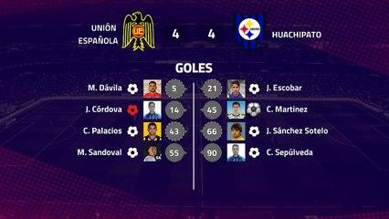 Resumen partido entre Unión Española y Huachipato Jornada 8 Primera Chile