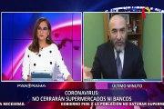 Dr. Elmer Huerta: Perú podría llegar a 2000 contagiados de COVID-19 si no cumple con el estado de emergencia
