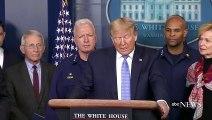 President Trump speaks at COVID-19 briefing