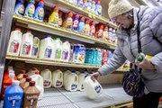 Trump urges no hoarding as coronavirus panic strains grocery stores