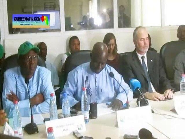 Coronavirus en Guinée : la conférence de presse de l'Agence nationale de sécurité sanitaire (ANSS)