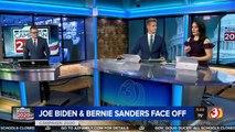 Joe Biden and Bernie Sanders face off in Democratic presidential candidate debate