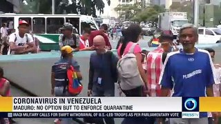 Maduro ordered quarantine in 6 states and Caracas