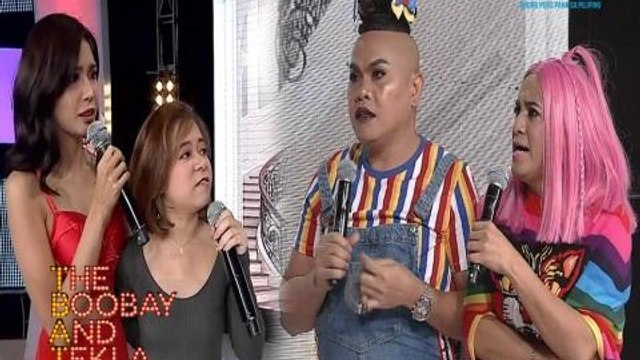 The Boobay and Tekla Show: Myrtle Sarrosa at Kiray Celis, inalipusta nina Boobay at Tekla!