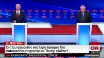 Highlights of Biden-Sanders Democratic Debate In Washington, D.C.