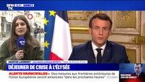 """Emmanuel Macron annonce """"des décisions exigeantes dans les prochaines heures"""""""