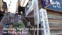 Coronavirus: apparition en Corée du Sud d'un nouveau foyer lié à une Eglise