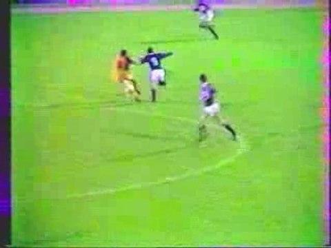 Coupe UEFA 83-84 Laval - Austria Vienne (but de Perard csc)