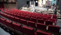 - Van Devlet Tiyatrosunda korona virüsüne karşı dezenfekte çalışması