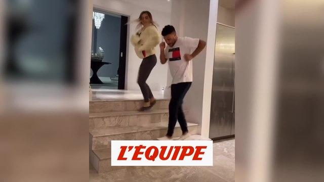 Le couple Oxlade-Chamberlain peaufine ses chorégraphies - Foot - Coronavirus - WTF