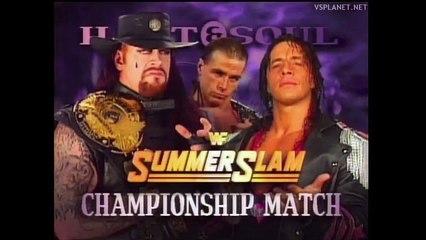 The Undertaker vs Bret Hart, Summerslam 1997 (RU)