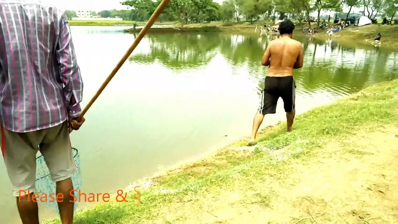 Katla Fishing at  Singur Pond