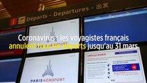 Coronavirus : les voyagistes français annulent tous les départs jusqu'au 31 mars