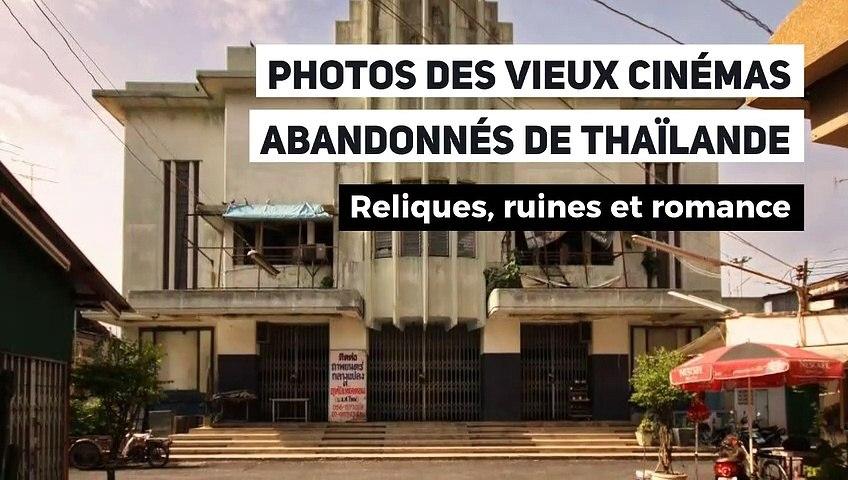 Photos des vieux cinémas abandonnés de Thaïlande