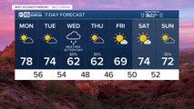 Rain, snow possible this week