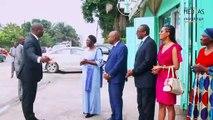 Visite de M Sidi Tiémoko Touré (Ministre de la Communication et des Médias ) au siège du Groupe Univers