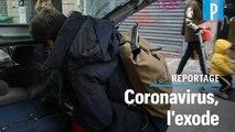 Coronavirus : ils quittent Paris avant le confinement renforcé