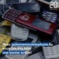 Faites une bonne action avec votre vieux téléphone!
