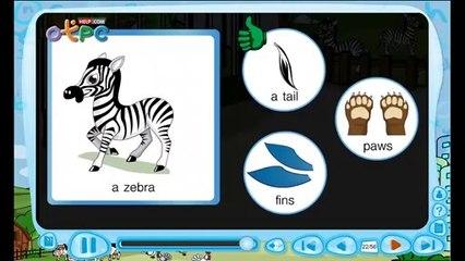 สื่อการเรียนการสอน At the zoo animal body parts (ส่วนต่างๆของสัตว์) ป.3 ภาษาอังกฤษ