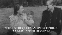 27 times the Queen and Prince Philip looked happier than ever